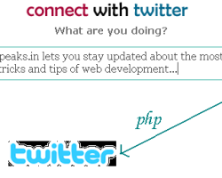 Update Twitter Status with PHP – Most Simple Script!