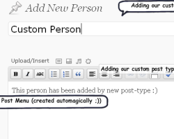 Creating Custom Post-types in WordPress
