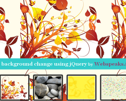 Live background Change using jQuery