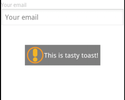 How to Customize the Default Toast Message in Android