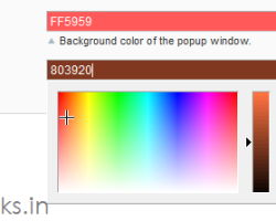 Add color picker in Magento Admin Configuration Page