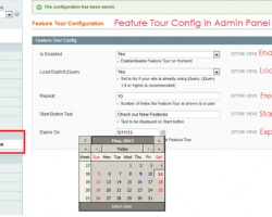 How to Add Date Picker in Magento Config Page