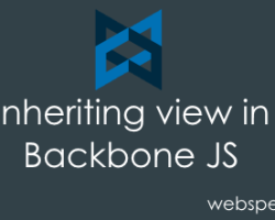 Inheriting Views in BackboneJS