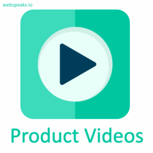 Product videos Magento extension