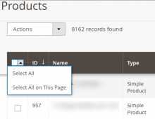 How to Hide Select All From Magento 2 Admin Grids